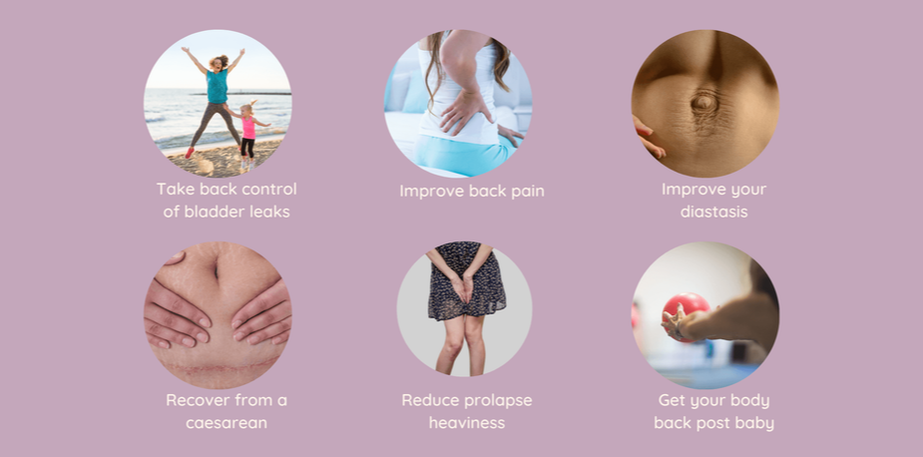 Online core and pelvic Floor programme beneftis