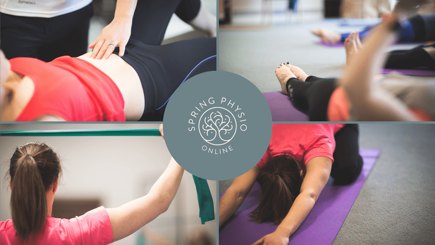 Spring Physio Online Pelvic Floor Recovery Class